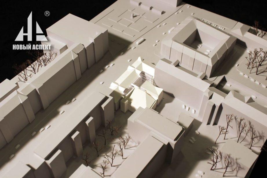 Градостроительные макеты Школа им. Моисеева (4)