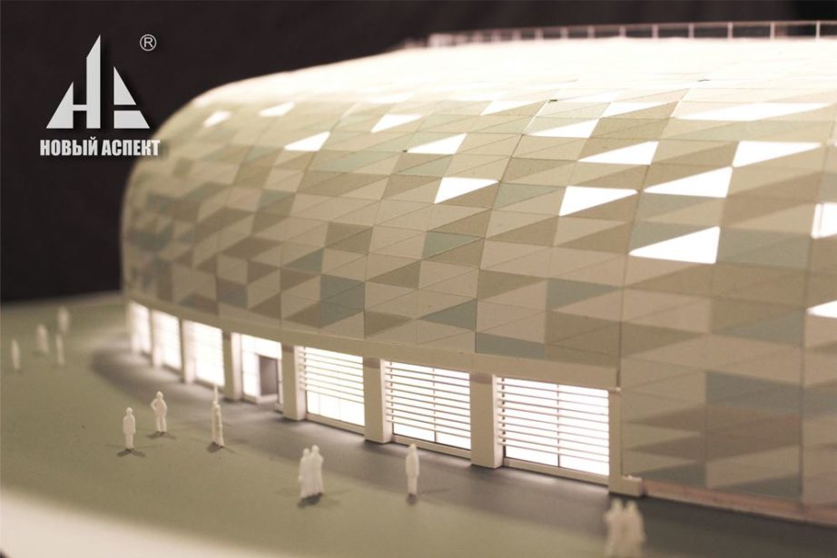 Макеты общественных зданий, центр Сириус Спорт (1)