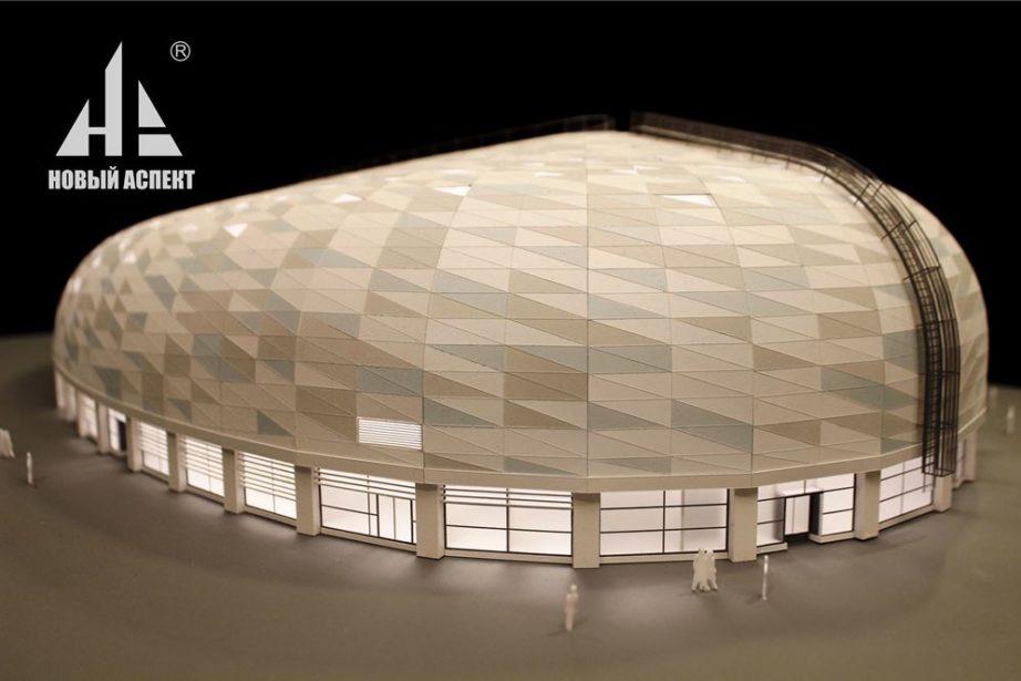 Макеты общественных зданий, центр Сириус Спорт (4)
