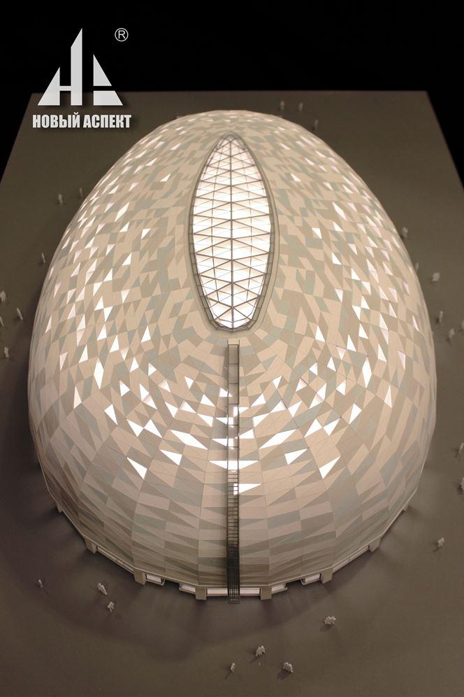Макеты общественных зданий, центр Сириус Спорт (5)