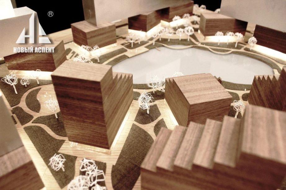 Макеты из дерева Казанская биеннале (4)