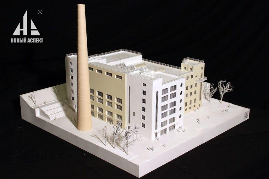 Макеты жилых домов и комплексов ТЭЦ Инт (1)