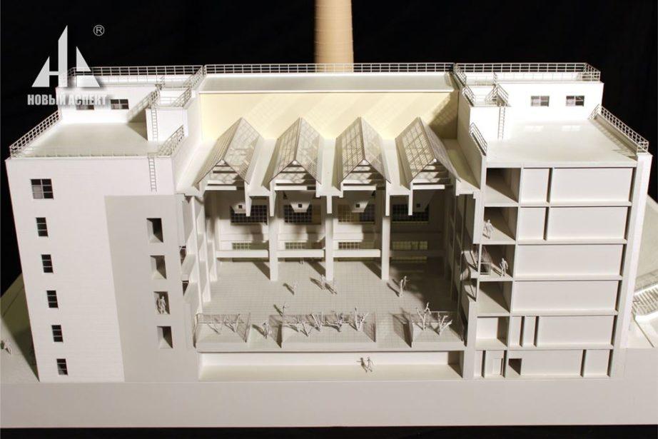 Макеты жилых домов и комплексов ТЭЦ Инт (7)