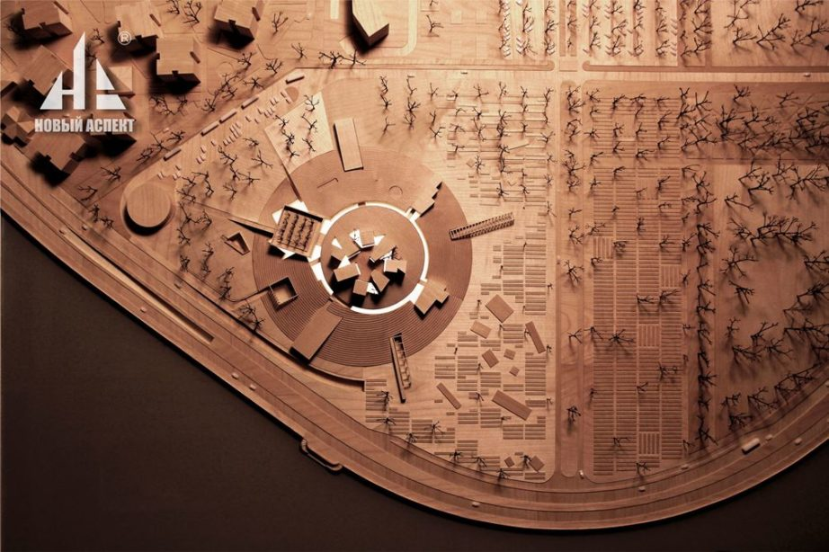 Макеты из дерева Музей Блокады Дерево (3)
