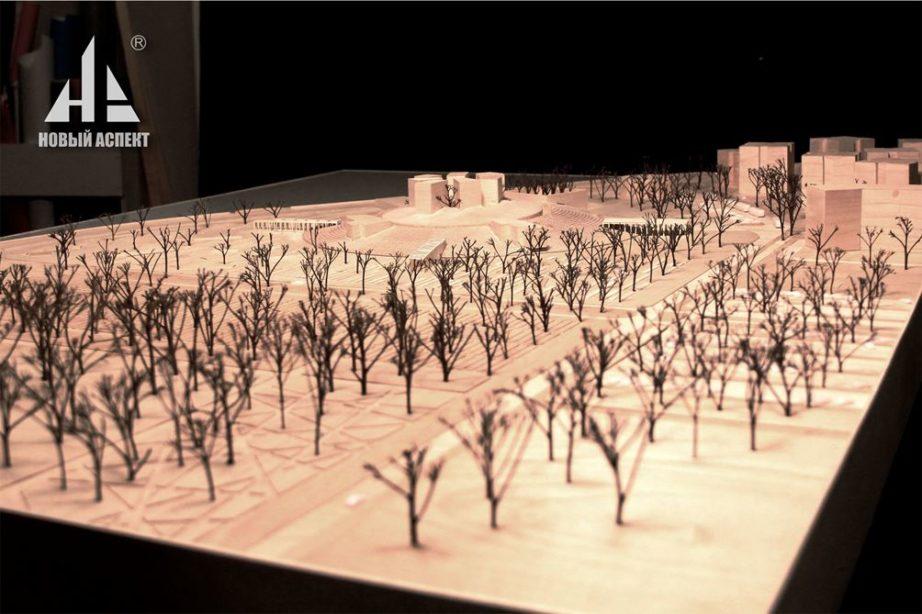 Макеты из дерева Музей Блокады Дерево (4)