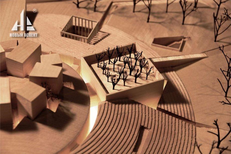 Макеты из дерева Музей Блокады Дерево (6)