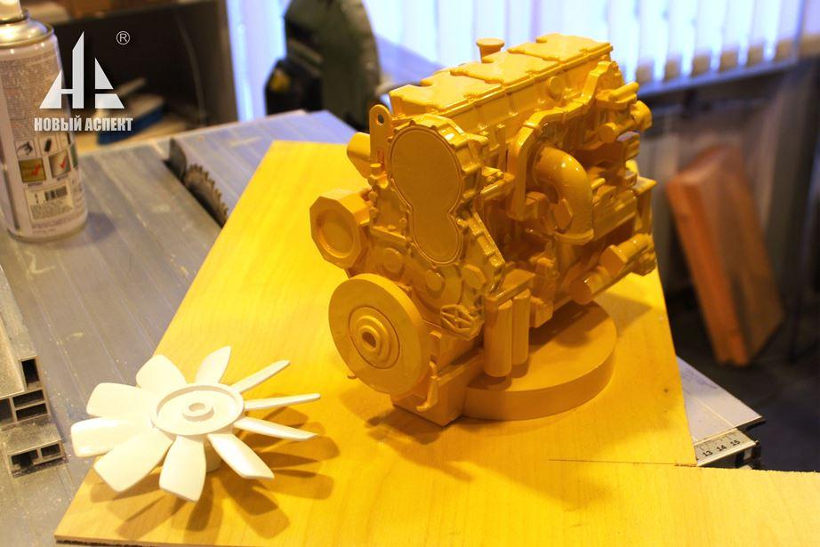 Макеты оборудования, двигатель (3)